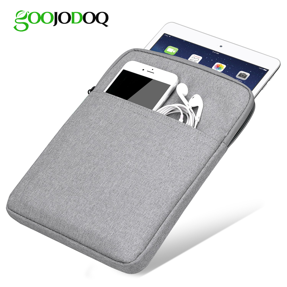Tablet Case Sleeve For iPad 2018 2017 9.7 Bag Cover, GOOJODOQ Shockproof Protective Tablet Pouch for iPad Pro 11 Case 2018Tablet Case Sleeve For iPad 2018 2017 9.7 Bag Cover, GOOJODOQ Shockproof Protective Tablet Pouch for iPad Pro 11 Case 2018
