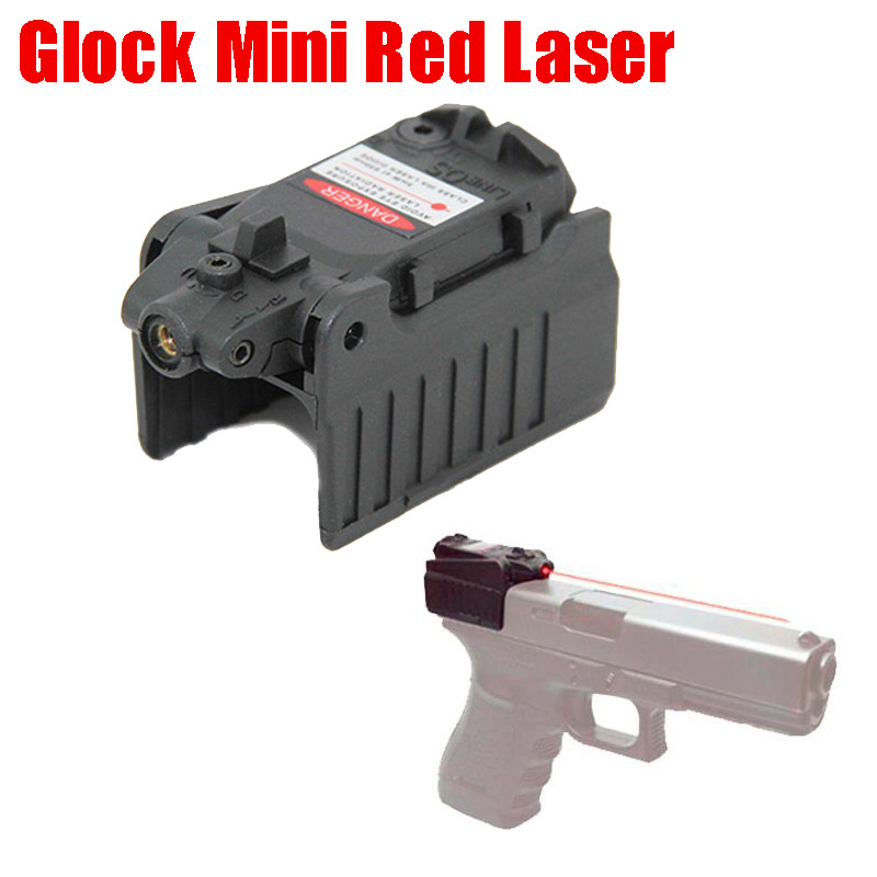 Tactical Compact Glock Red Laser Pistol Laser Sight For Glock 17 18C 19 22 23 25 26 27 28 31 32 33 34 35 37 Series-0