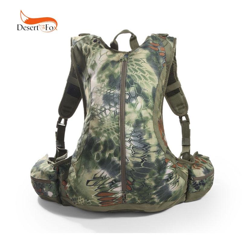 Sac d'alpinisme étanche 20L en tissu Nylon avec motif Python sac à dos Camouflage pour Camping en plein air randonnée activité