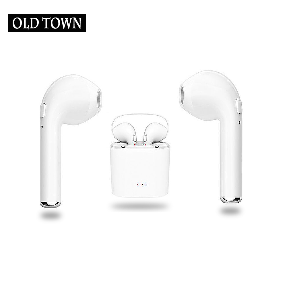 For Apple Bluetooth Touch Control Hifi Earphone with Mic TWS Wireless Earbuds Stereo Microphone for IPhone Xiaomi Charger Box
