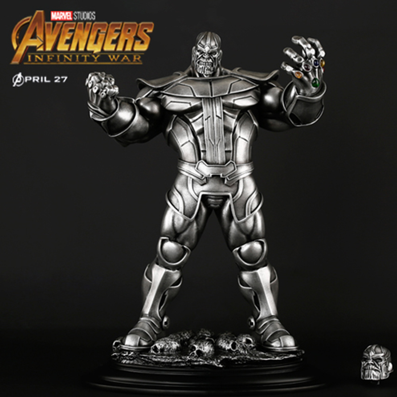 2 Colors The Avengers Thanos Statue Action Figures Avengers: Infinity War Resin Crafts for Collection Home Desk Car Ornaments 2 Colors The Avengers Thanos Statue Action Figures Avengers: Infinity War Resin Crafts for Collection Home Desk Car Ornaments