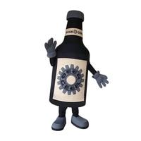 Beer bottle Mascot costume custom anime kits mascotte theme fancy dress carnival costume for Halloween party