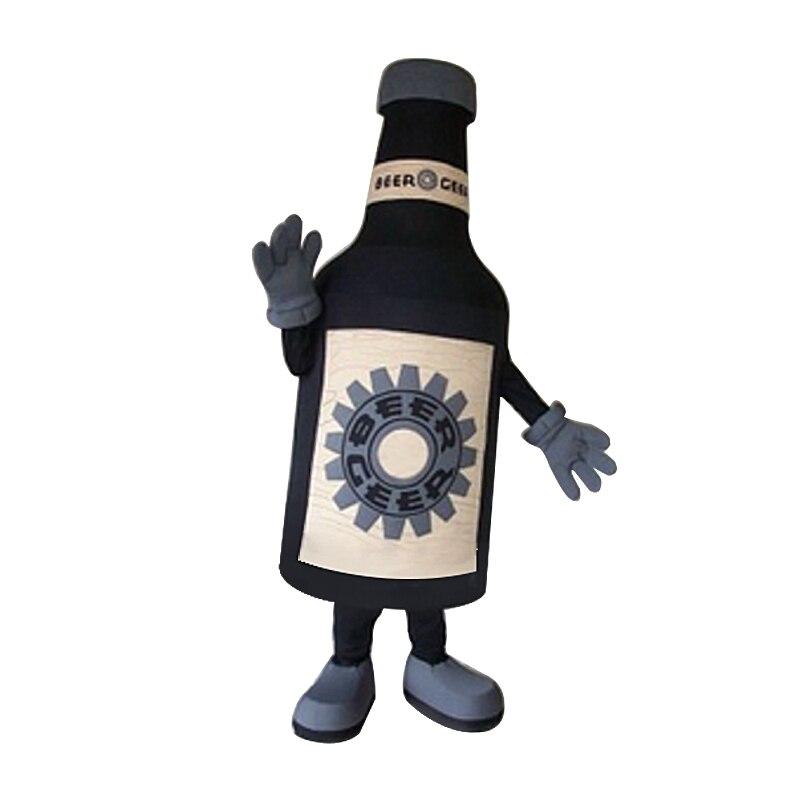 Bouteille de bière mascotte costume personnalisé anime kits mascotte thème fantaisie robe carnaval costume pour fête d'halloween