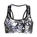 Cropped New Lady's Sexy Corset Push-Up Vest 3D Harajuku Women Top Girl Bra Body Shape Wear Rabbit Printed Underwear White Black