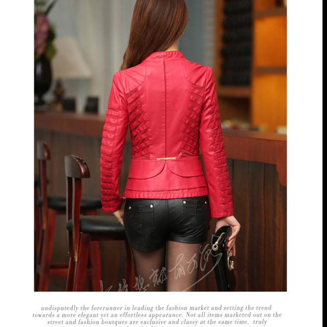 2018 Spring And Autumn Faux Leather Jacket Women Casual Long Sleeve Short Coat Fashion Plus Size Jacket Femininas New Low Price