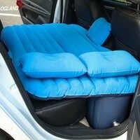 Colchón de viaje inflable de aire para coche OGLAND cama Universal para asiento trasero cojín de sofá multifuncional para Camping al aire libre