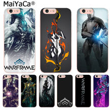 MaiYaCa Game Warframe Soft silicone Colorful Phone Accessories case for iphone 11 pro 8 7 66S Plus X 10 5S SE XS XR XS MAX(China)