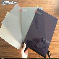 Smart Tint PDLC Film Switchable Glass Smart Glass Film A4 Sample