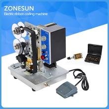 Semi-automatic Electric Hot Stamp Ribbon Code Printer Ribbon Coder HP-241B Color Ribbon Hot Printing Machine,Heat ribbon printer
