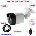1080 P HDCVI HDTVI CVBS AHD камеры IP66 видеонаблюдения 4 в 1 2MP Ночного Видения 720 P 1MP камеры видеонаблюдения, 3.6 мм Объектив, кронштейн, OSD