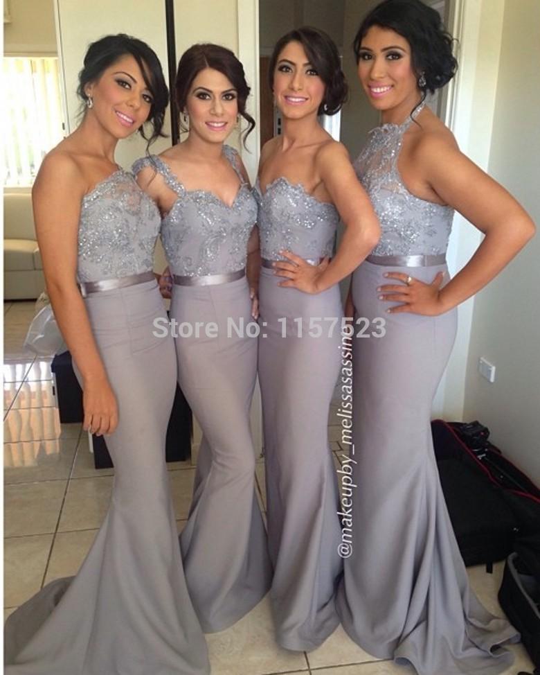 Bridesmaid Dresses Under Plus Size Prom Sleeves Vestido De Casamento Noiva Curto Festa Longo