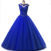 2015 Shiny Gorgeous Ball Gown Sweetheart High Quality Quinceanera Dresses Vestidos De Debutante Gowns