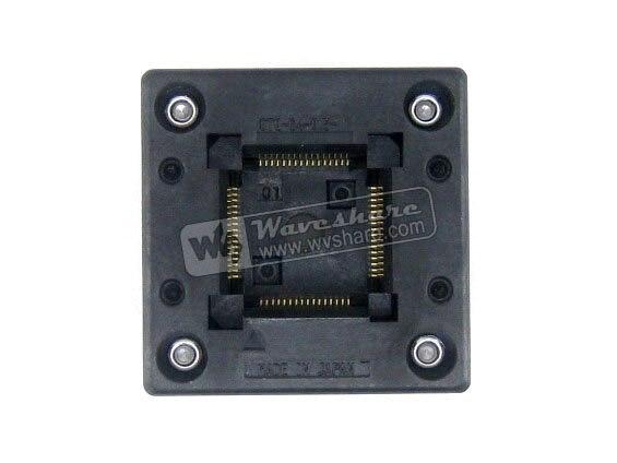 2018 Hot Sale Time-limited Module Qfp64 Tqfp64 Lqfp64 Pqfp64 Otq-64-05-01 Qfp Test Burn-in Socket Enplas 05mm Pitch