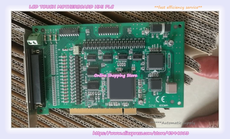 For Board PCI-1750 32-channel isolated digital I/O and counter card pcl 722 collecting board 144 dio board volume bit digital i o card
