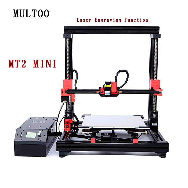 Biggerlaser plaque d'impression imprimante 3d multoo Double buse Double extrudeuse 3D imprimante accessoires haute qualité précision - 2