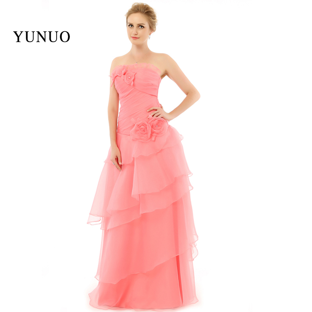 ⊰2018 glamorous a-line con gradas plisado Venta caliente elegante ...
