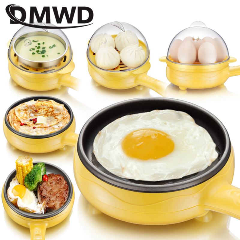 Multifunctional Household Mini Fried Eggs Artifact Dormitory Egg Boiled Egg Inserted Electric Frying Breakfast Machine Automatic