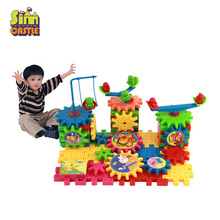 Children's Plastic Changed Building Blocks Toys Kids DIY Creative Educational Toy Gear Assemble Blocks Toys Model Toys 300pcs diy toys baby children straw blocks enlightenment toys plastic stitching assembly straw building blocks kids creative toy