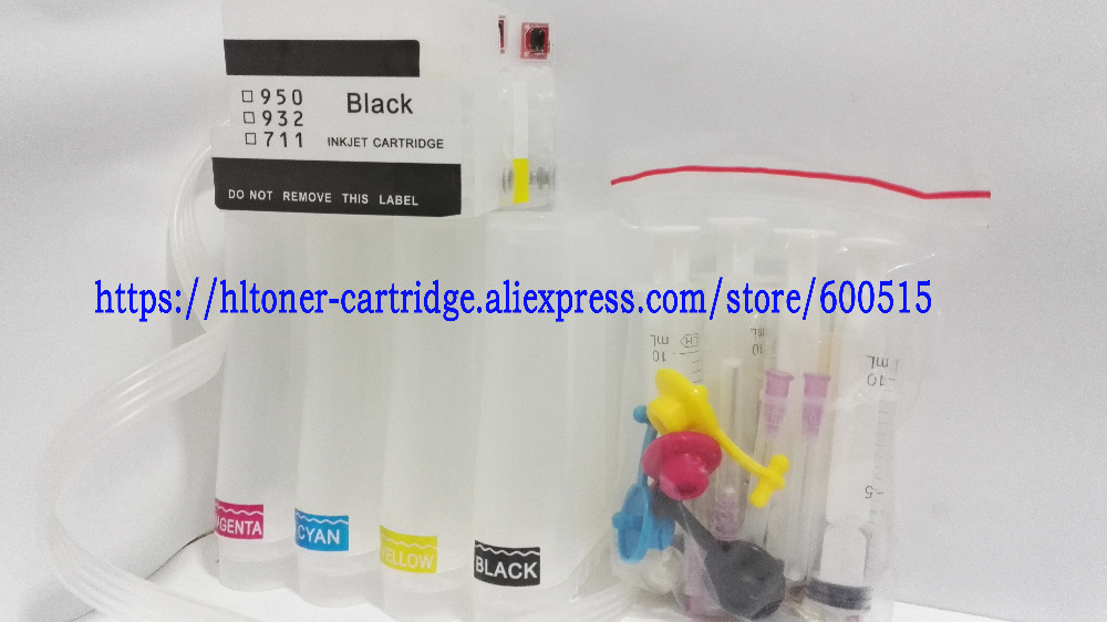 empty CISS With permanent Chips compatible hp711 for HP 711 ink cartridge Designjet T120 T520 printer