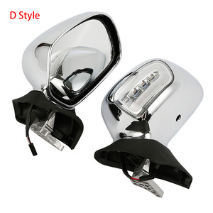 Image 5 - Motorcycle Rear View Mirror With Turn Signal For Honda Goldwing GL1800 2001 2012 2011 2010 Accessories