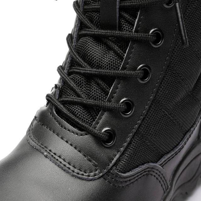 Men Tactical Waterproof Safety Boots 6