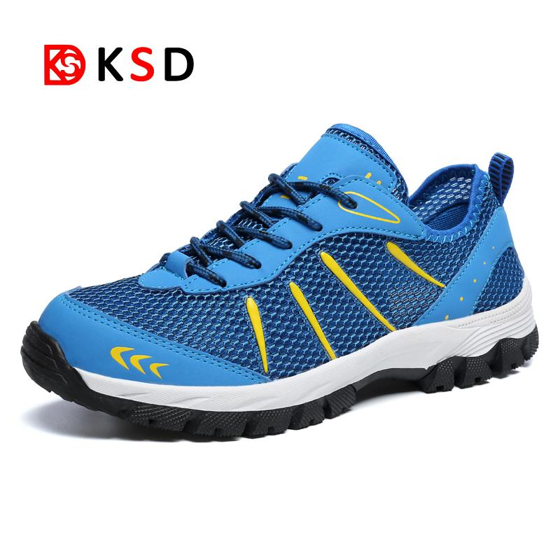 Men Outdoor Sneakers Breathable Hiking Shoes Big Size Men Hiking Sandals 2018 New Men Trekking Trail Water Sandals Size 39-48
