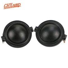 GHXAMP nowy 1.25 cal 30mm głośnik wysokotonowy 8ohm 10W neodymowy Dome Silk Film Treble głośnik 2way głośnik samochód DIY Audio 2 sztuk