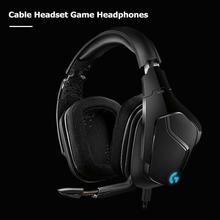 цены на Logitech G633s 3.5mm Wired Cable Game Headphone With Microphone Over Ear Headset Stereo DTS Surround Sound Mic Stereo Earphone  в интернет-магазинах