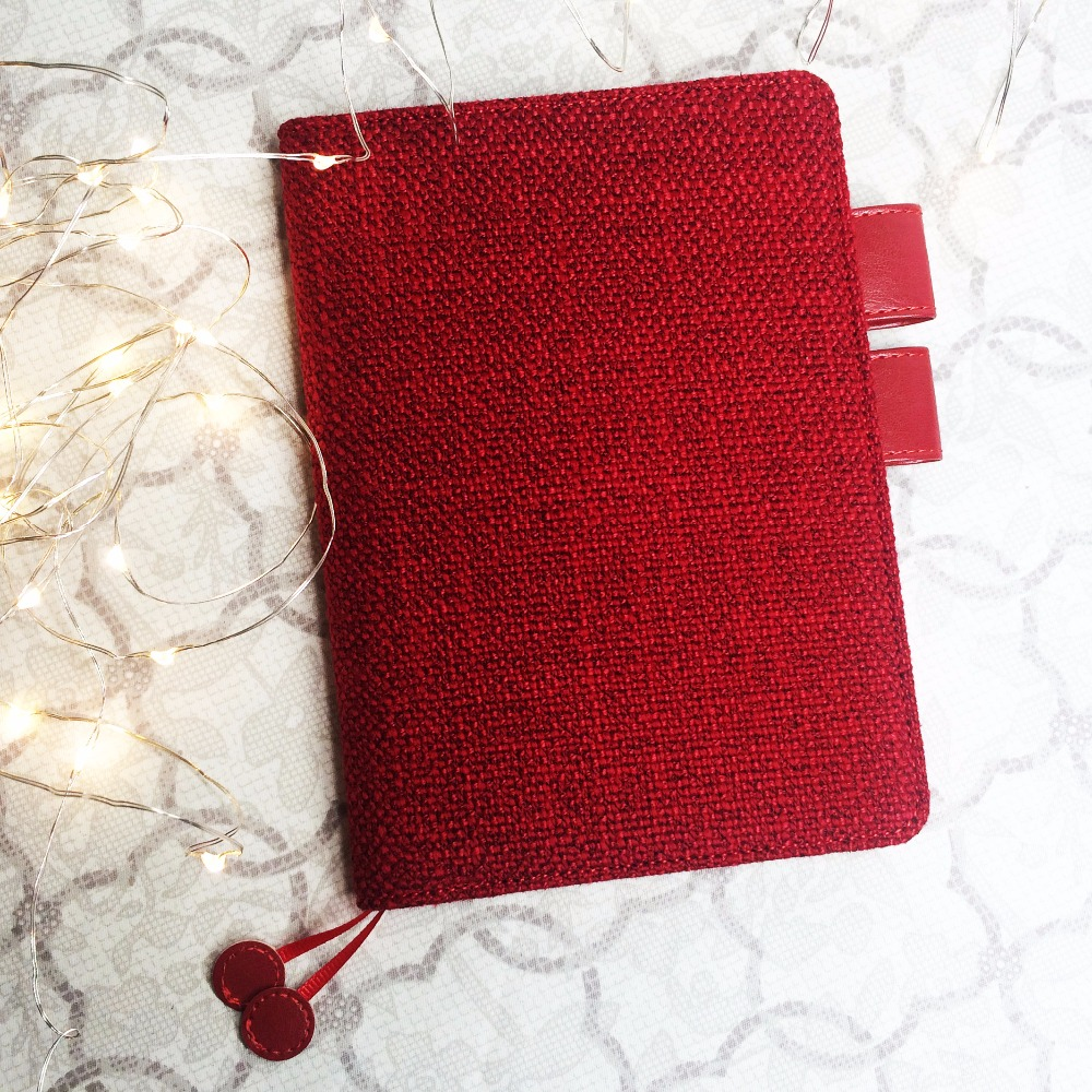 Red Cherry Creative Hobonichi Fashion Journal Cover A5 Suit For Standard A5 Paper Book 2018 Diy Planner Gift Ture 100% Guarantee