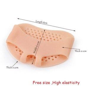 Image 5 - USHINE Новый профессиональный полный резинкой шнурки для коррекции и обучение тапочки для занятий йогой носки для балета, танцевальная обувь для детей, для девушек и женщин