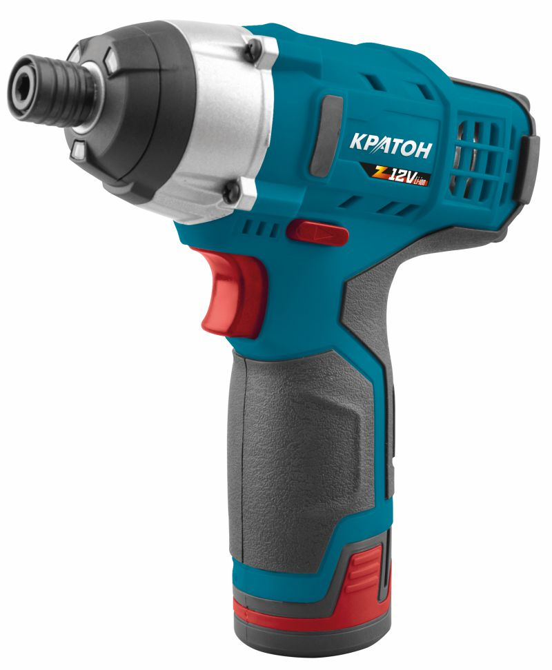 Cordless impact screwdriver KRATON CSL-12-Z 12 V 1.3 Ah Li-Ion 0-2000 rev / min 97 Nm