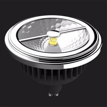 LED Ersatz Für Halogenlampe   AR111 ES111 Led-lampe 15 Watt Ersetzen 75 Watt Halogen G53 GU10 LED Scheinwerfer 12 V, CREE COB LED> 85Ra ES111 Led-lampe Freies Verschiffen DHL/UPS