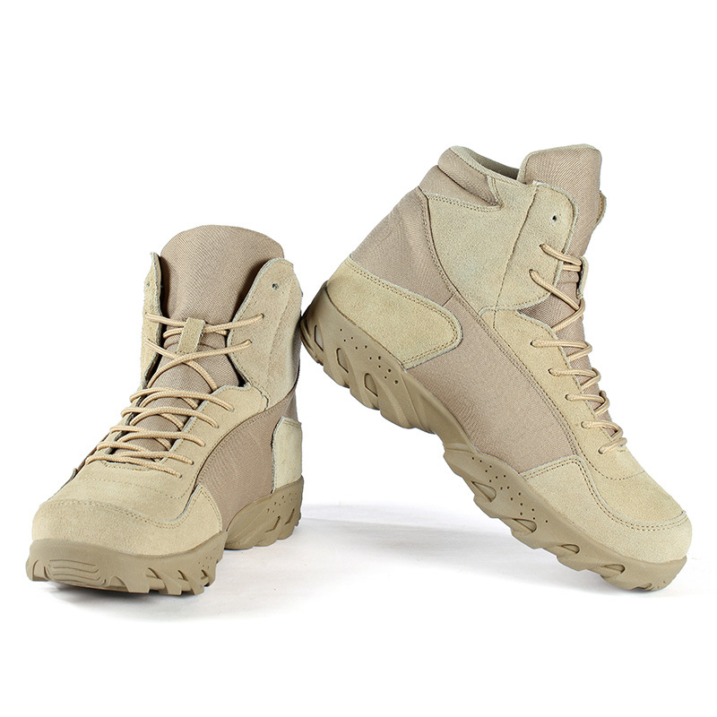 outdoor tactical ankle font b boots b font anti slip wear resistant suitable for font b