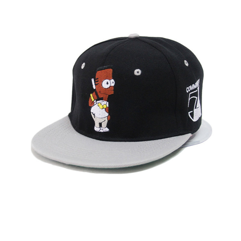 New Brand  Baseball Cap Men Women Snapback Cap Hat Female Male Hip Hop Bone Cap Black Cool Brand Fashion Street Adjustable hats women cap skullies