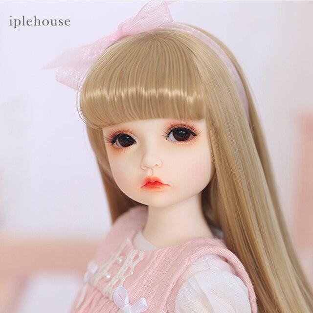 Free Shipping BJD Dolls Iplehouse Elin BID IP 1/6 Fashion cut High Quality Girl Toys Xmas Gifts Dollshe 4