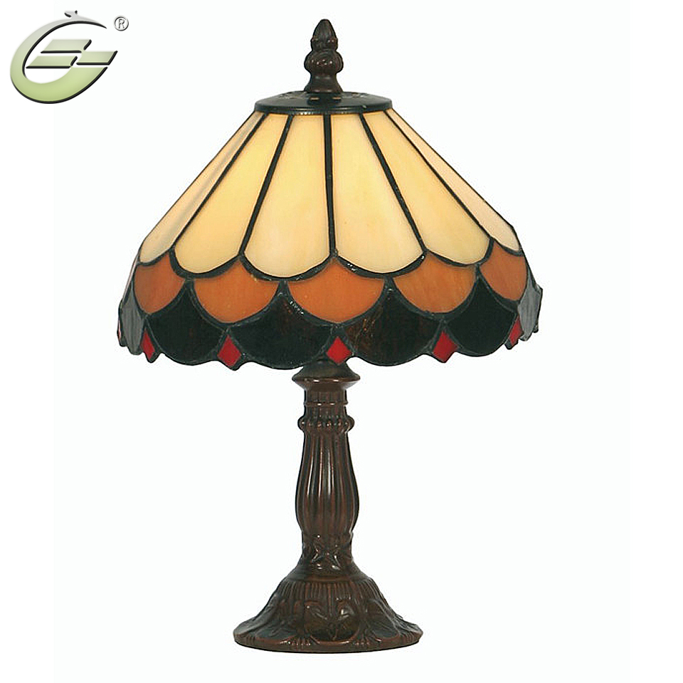 Classical Antique Glass Lamp Shades Table Lamps Decoration Light E27  Children-s Table