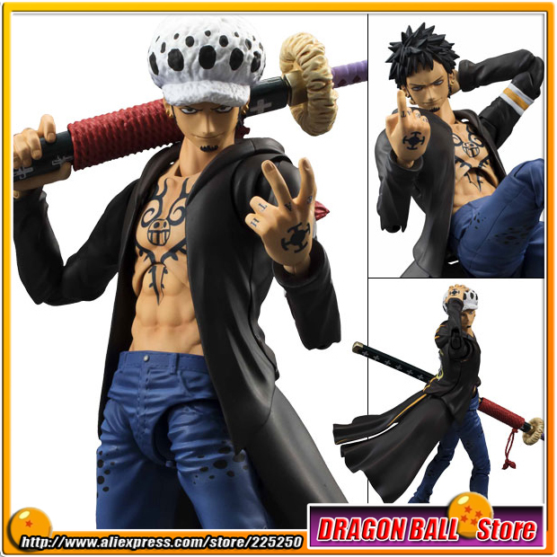 Japanese Anime ONE PIECE Original MegaHouse(MH) Variable Action Heroes / VAH Action Figure - Trafalgar LawJapanese Anime ONE PIECE Original MegaHouse(MH) Variable Action Heroes / VAH Action Figure - Trafalgar Law