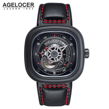 Agelocer Brand Men's Watches Sapphire Glass Men Watches Stainless Steel Material Top Quality Diver Men Wrist Watch With Gift Box