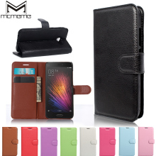 MCMEME Wallet Flip Leather Case Cover Card Slot Stand for Xiaomi 5S Plus Max 4C Mi4C Redmi 4 A4 Pro 3S 3 Note 4X Mi5 Mi 5 6 Mi6