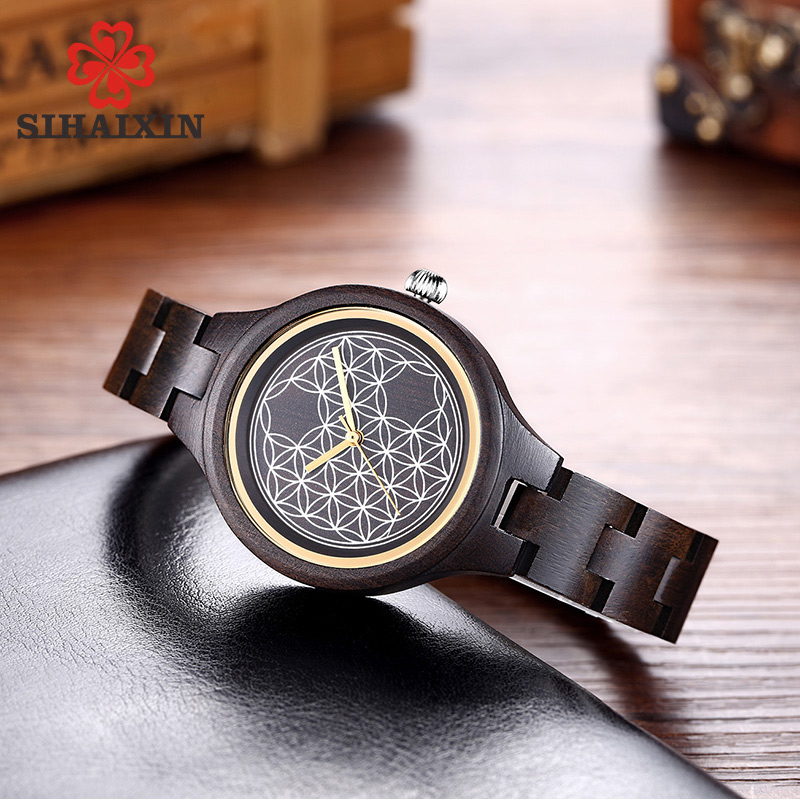 black-wood-watches-for-women-clock-lady-2