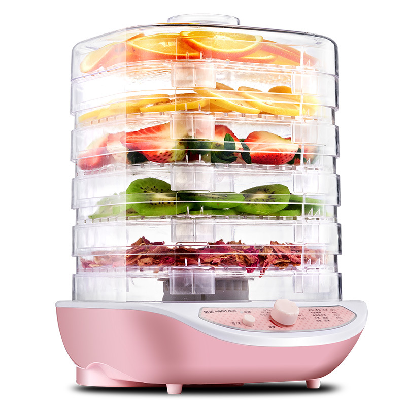 Fruit Dehydrator Vegetable Herb Meat Drying Machine Snacks Small Food Dryer 5 Layer Good Package computer controlled home food dryer machine 6 layer design fruit vegetable dehydrator 360 degree cycle drying dryer drying tool