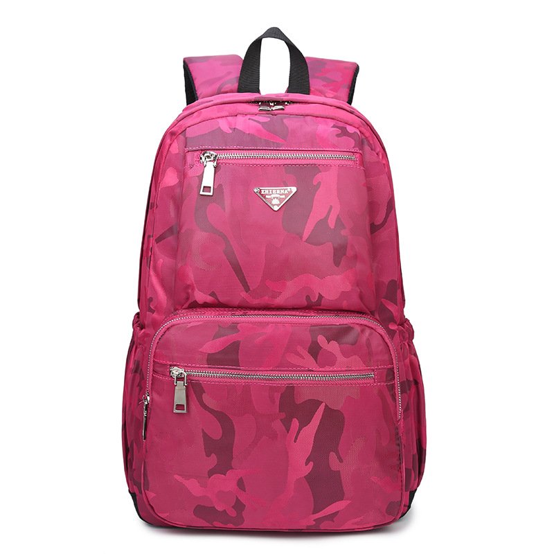 Hot! Stylish Women Camouflage Large Capacity Bag Travel Laptop Backpack Oxford College Tide Casual Men Backpacks School Bags B66