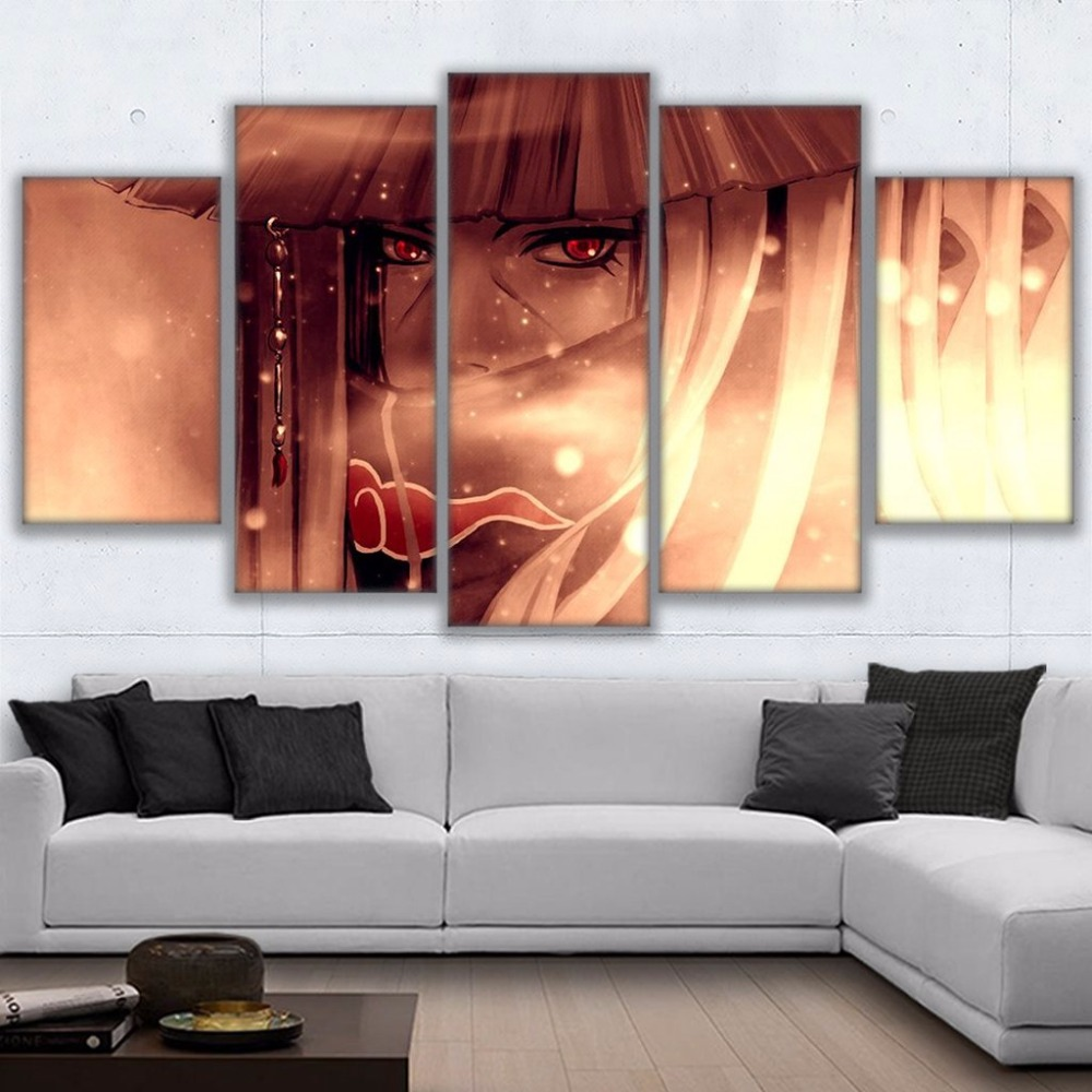 Tableau Itachi Uchiha 3 Mur Art photos d cor la maison pour salon HD imprime Anime affiche encadr e 5
