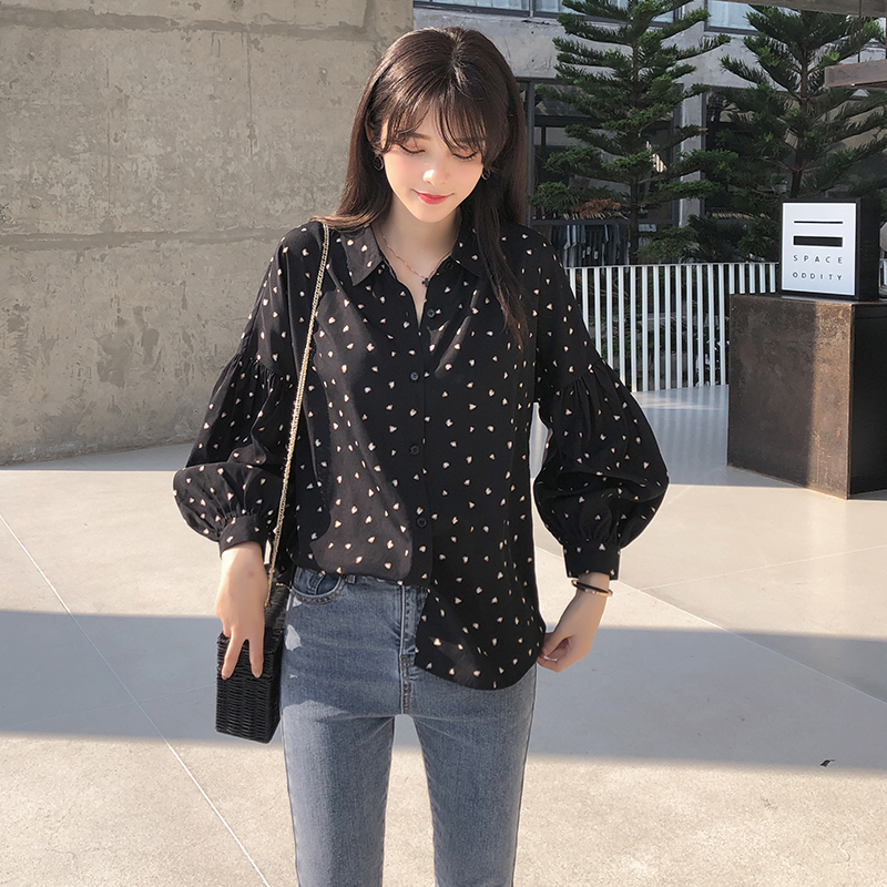 Mishow 2019 Women   Blouses     Shirt   Fashion Long Sleeve   Shirt   Female Casual Tops MX19A4556