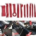 11 piezas Auto estéreo Trim tablero puerta Interior Puerta de Panel removedor de la palanca de apertura Kit de herramienta de destornillador conjunto de herramientas de reparación
