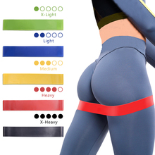 цена Resistance Bands Fitness Gum Workout Rubber Loop Latex Yoga Gym Strength Training Band Athletic Fitness Equipment Bands expander онлайн в 2017 году