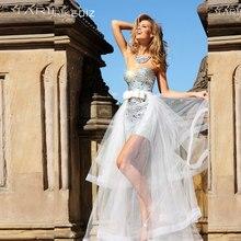 Sparkling Sweetheart Silver Stones Beads Bow Mini Short Tarik Ediz Prom Party Dresses 2015 Vestido De Fiesta