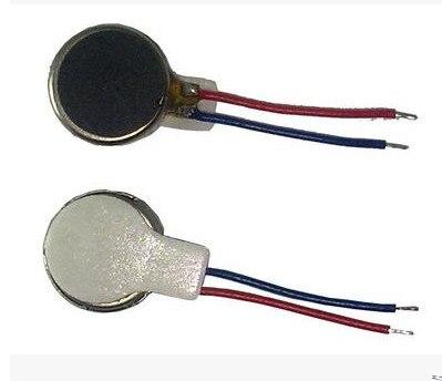 50pcs DC3V 0834 Mobile Phone Micro Flat Vibration Motor / Coin Motor / Mini Vibrator Motor Free Shipping