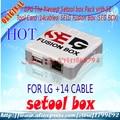 Free  Shipping 100% GPG ORIGINAL NEW SETOOL BOX SG BOX SEG BOX Pack with SE Tool Card (14 cables ) SELG Fusion Box