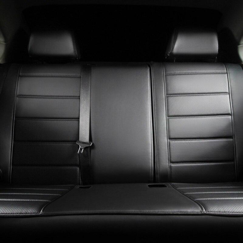 Cubierta de asiento de cuero para Toyota Volkswagen Suzuki Kia Mazda - Accesorios de interior de coche - foto 4